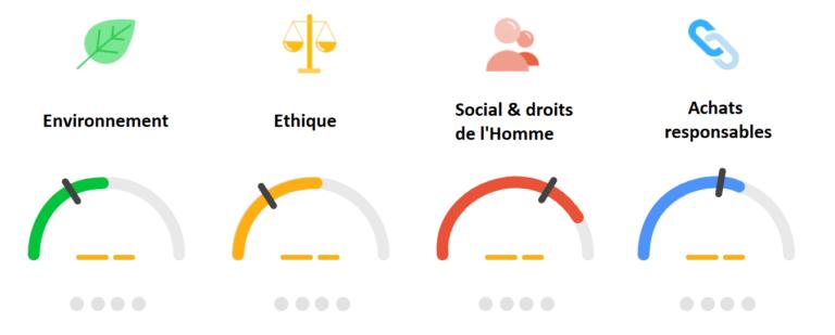 EcoVadis évaluation environnement éthique droits de l'homme achats responsables