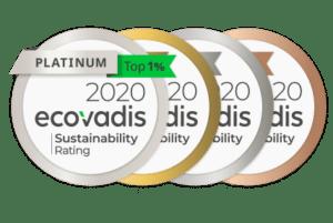 ecovadis médailles évaluation notation performance RSE