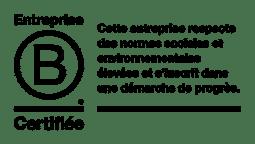 Entreprise Certifiée Label B Corp