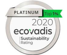 Ecovadis médaille platinum 2021 notation RSE évaluation